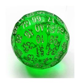 Foam Brain Games 45mm D100 (Translucent Green)