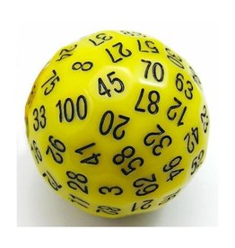 Foam Brain Games 45mm D100 (Yellow)