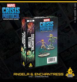 Atomic Mass Games Marvel Crisis Protocol (Angela and Enchantress)