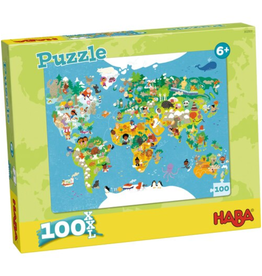 Puzzle: World Map (100 pc)