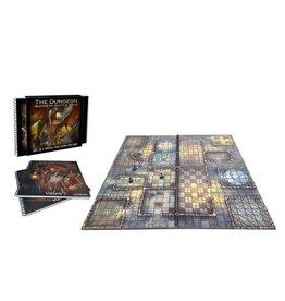 Battle Mat: Dungeon Book of Battle Mats