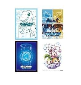 Bandai Japan Sleeves (Digimon, 60ct.)