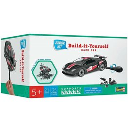 Revell Junior Kit (Build-it-Yourself Race Car, Black)