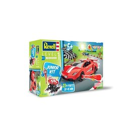Revell Junior Kit (Build-it-Yourself Race Car, Red)