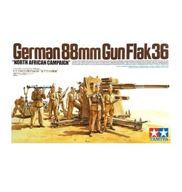 German 88mm Flak Gun 36
