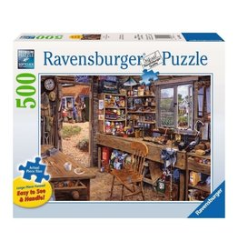 Ravensburger Dad's Shed (500pc)
