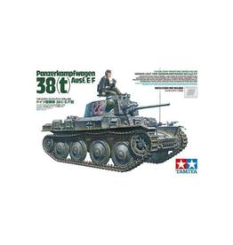 German Lt. Tank Panzerkampfwagon 38T