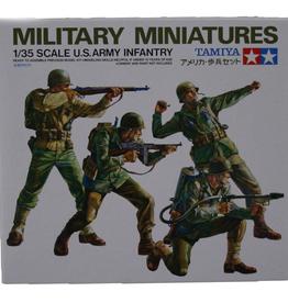 US Army Infantry Plastic Model