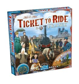 Ticket to Ride (France & Old West)