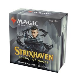 Wizards of the Coast Pre-Release Pack - Silverquill (Strixhaven: School of Mages)