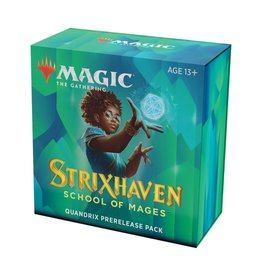 Wizards of the Coast Pre-Release Pack - Quandrix (Strixhaven: School of Mages)