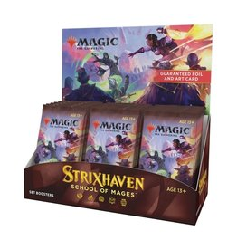 Wizards of the Coast Set Booster Box (Strixhaven: School of Mages)