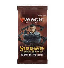 Wizards of the Coast Draft Booster (Strixhaven: School of Mages)