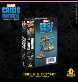 Atomic Mass Games Marvel Crisis Protocol (Cable & Domino)