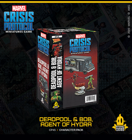 Atomic Mass Games Marvel Crisis Protocol (Deadpool & Bob, Agent of Hydra)