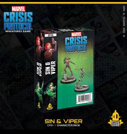 Atomic Mass Games Marvel Crisis Protocol (Sin & Viper)