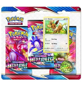 3-Booster Blister Pack (Battle Styles)