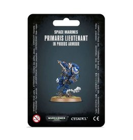 Games Workshop Space Marines Primaris Lieutenant in Reiver/Phobos Armor