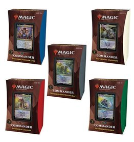 Wizards of the Coast Commander Decks (Strixhaven) Set of 5