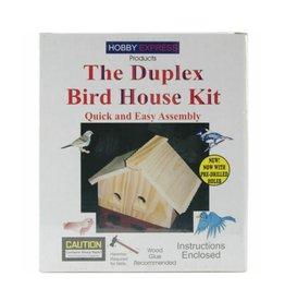 Hobby Express The Duplex Bird House Kit