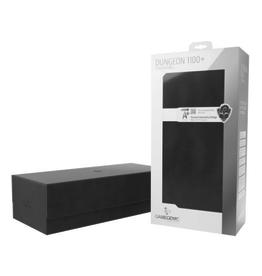 Gamegenic Dungeon 1100+ Card Convertible Deck Box: Black