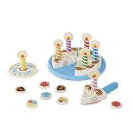 Melissa & Doug Birthday Cake - Wooden Play Set