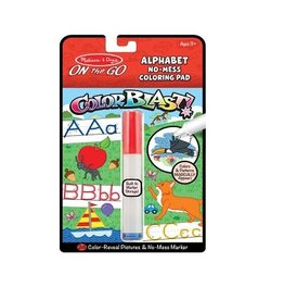 Melissa & Doug On the Go Coloring Pad - Colorblast (Alphabet)