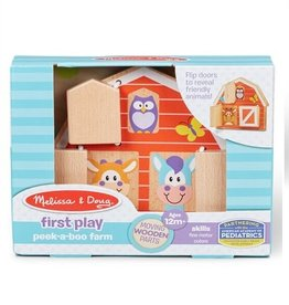 Melissa & Doug First Play Peek-A-Boo (Farm)