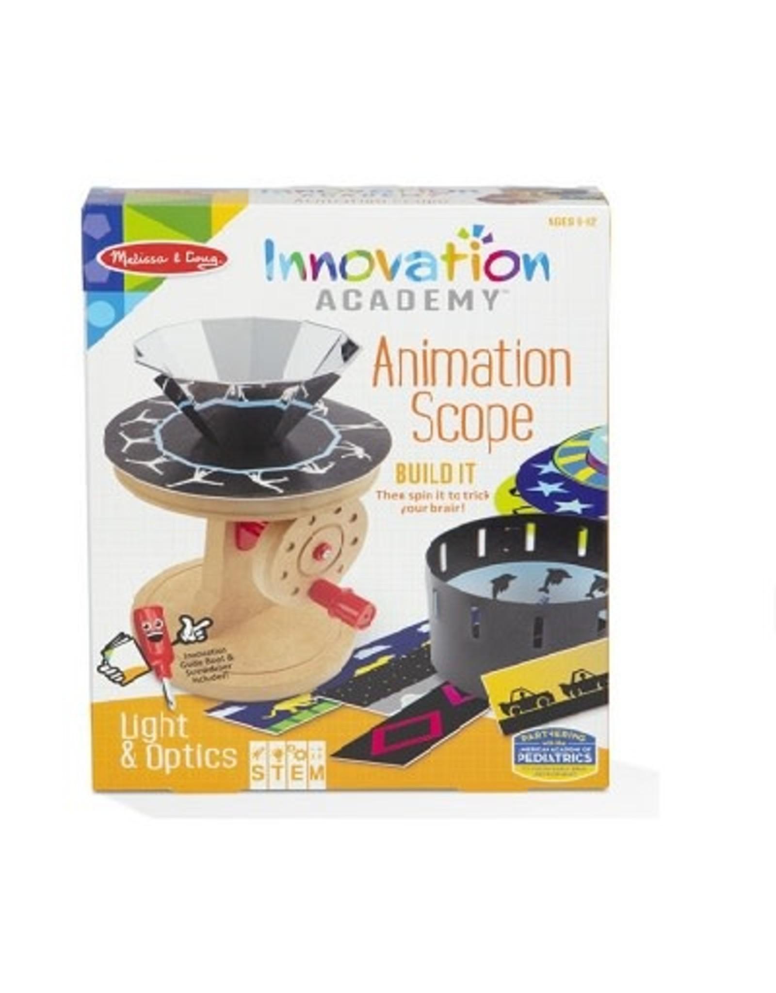 Melissa & Doug Innovation Academy (Animation Scope)