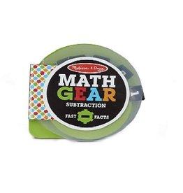 Melissa & Doug Math Gears (Subtraction)