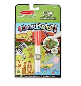 Melissa & Doug On the Go Coloring Pad - Colorblast (Safari)