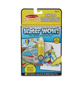 Melissa & Doug Water Wow Connect the Dots (Vehicles)