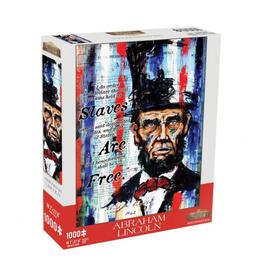 Mchezo Puzzles Abraham Lincoln