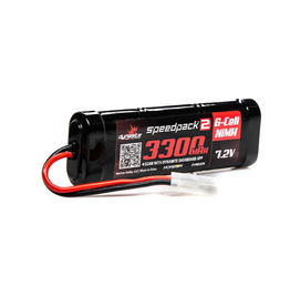 7.2V 3300mAh 6-Cell Speedpack2 Flat NiMH Battery: EC3