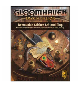 Gloomhaven Removable Sticker Set (Jaws of the Lion)