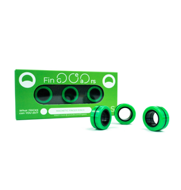 FinGears (Small Green-Black)