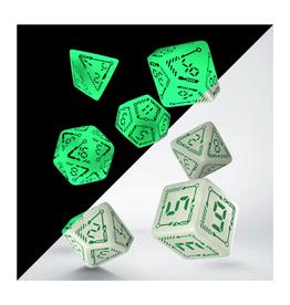 Digital Dice - 7 Pc. (Green)