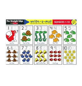 Melissa & Doug Learning Mat - Numbers 1-10