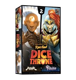 Dice Throne Season 1, Box 2 (Monk vs Paladin)