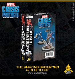 Atomic Mass Games Marvel Crisis Protocol (The Amazing Spider-Man & Black Cat)