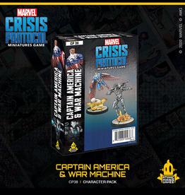 Atomic Mass Games Marvel Crisis Protocol (Captain America & War Machine)