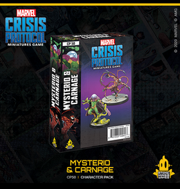 Atomic Mass Games Marvel Crisis Protocol (Mysterio & Carnage)