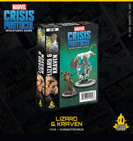 Atomic Mass Games Marvel Crisis Protocol (Lizard & Kraven)