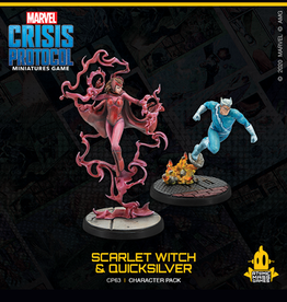 Atomic Mass Games Marvel Crisis Protocol (Scarlet Witch & Quicksilver)