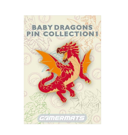 Baby Dragon Pin (Red)