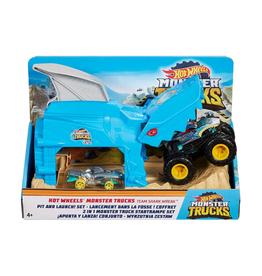 Hot Wheels - Monster Trucks: Pit & Launch Play Set