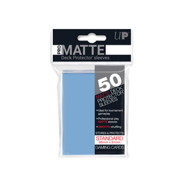 Sleeves - Pro Matte (Light Blue, 50 ct)