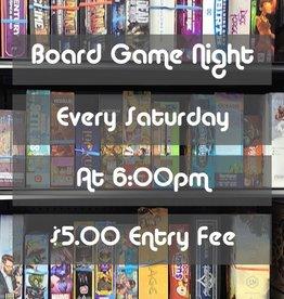 Board & Card Game Night