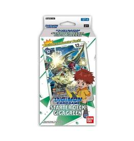 Bandai Japan Digimon Card Game Starter Deck - Giga Green