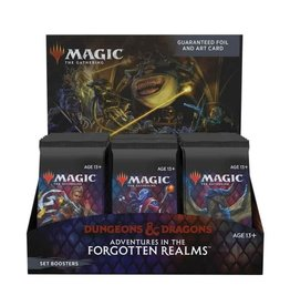 Wizards of the Coast Set Booster Box (Adventures in the Forgotten Realms)